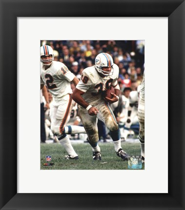 Framed Larry Csonka Action Print