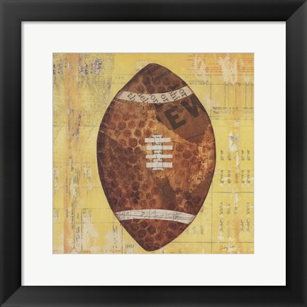 Framed Play Ball II Print