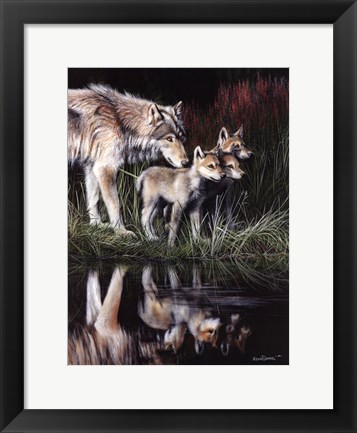 Framed Reflections Print