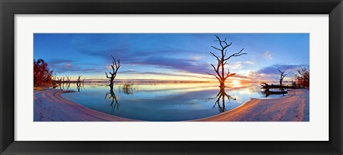 Framed Dead Calm Print