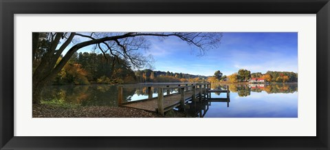 Framed Lake Daylesford 2 Print
