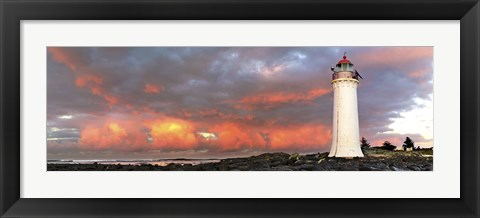 Framed Port Fairy Lighthouse 1 Print