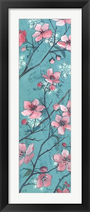 Framed Apple Blossom II Print