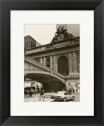 Framed Grand Central Station NYC Print