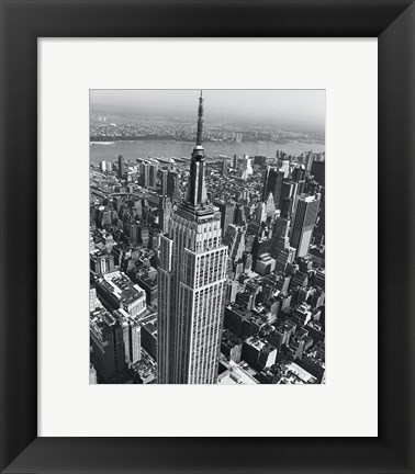 Framed Empire State Building 1 Print