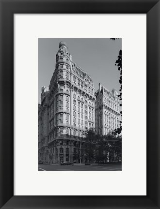 Framed Museum of History NYC Print