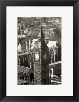 Framed Big Ben View II Print