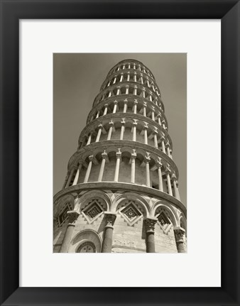 Framed Pisa Tower II Print