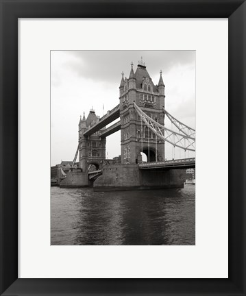 Framed Tower Bridge II Print