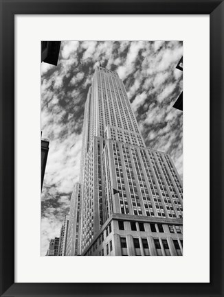 Framed Empire State 3 Print