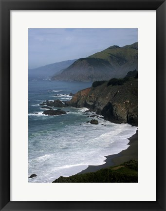 Framed Big Sur 1 Print