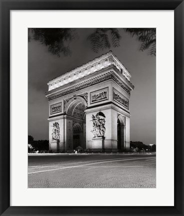 Framed Arc de Triomphe Paris Print