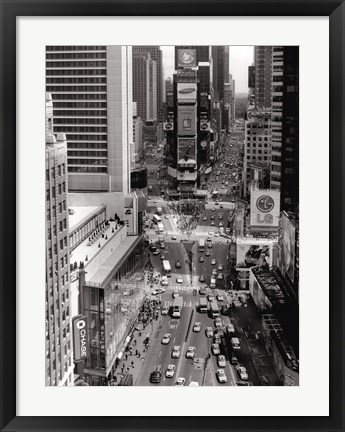 Framed Times Square Sign Print