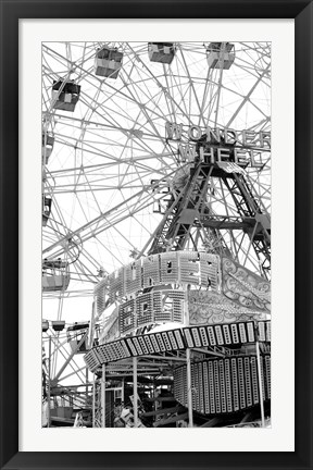 Framed Coney4 Print