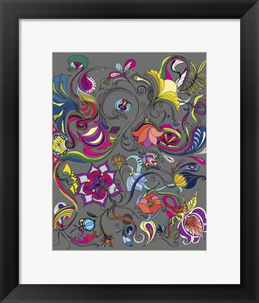 Framed Magic Garden Print
