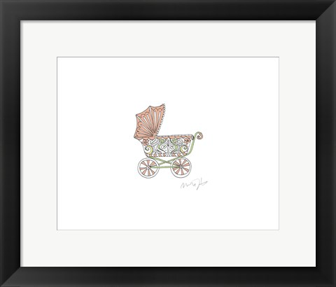 Framed Nutshell Carriage Print