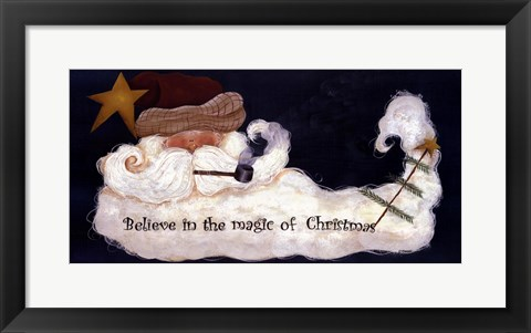 Framed Magic of Christmas Print