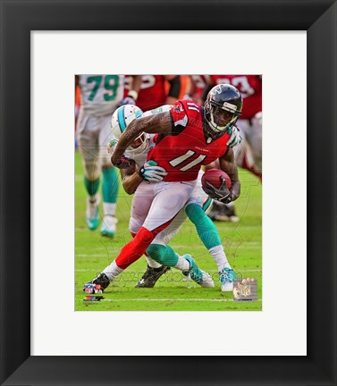 Framed Julio Jones 2013 Action Print