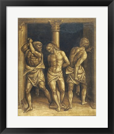 Framed Flagellation Print