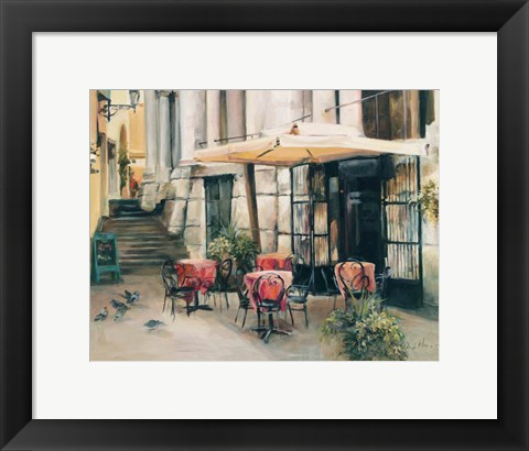 Framed Wine Cellar in Vincenza Print