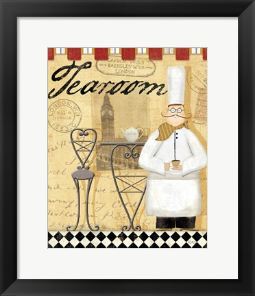 Framed Chef's Break IV Print