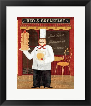 Framed Chef's Specialties I Print