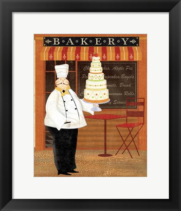 Framed Chef's Specialties IV Print