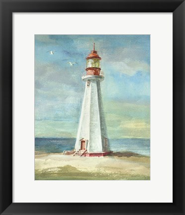 Framed Lighthouse III Print