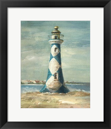 Framed Lighthouse IV Print