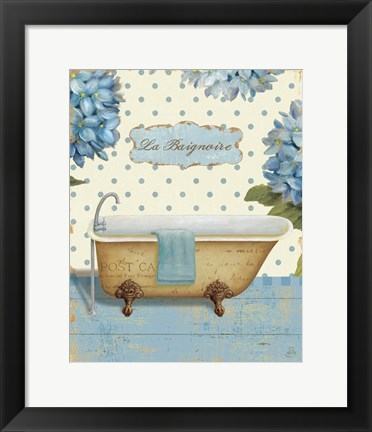 Framed Thinking of You Bath II Print