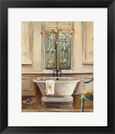 Framed Classical Bath III Print