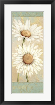 Framed Beautiful Daisies I Print