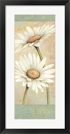 Framed Beautiful Daisies II Print
