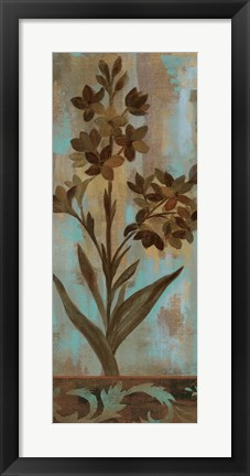 Framed Monsoon Florals II Print