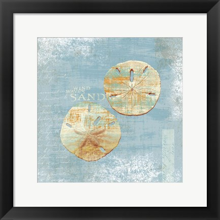 Framed Wind Waves Print