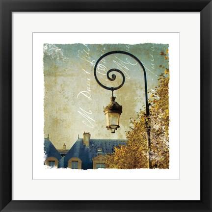 Framed Golden Age of Paris II Print