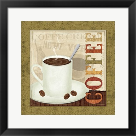 Framed Coffee Cup III Print