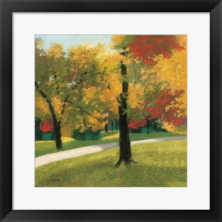 Framed Early Autumn Reds Print