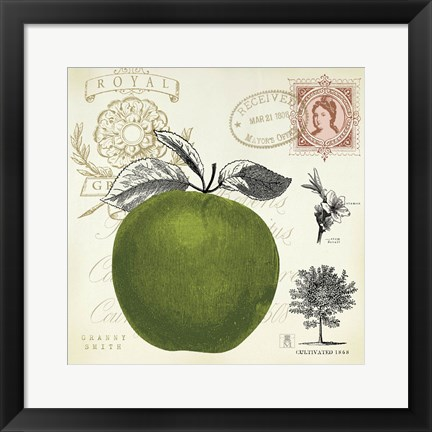 Framed Apple Notes Print