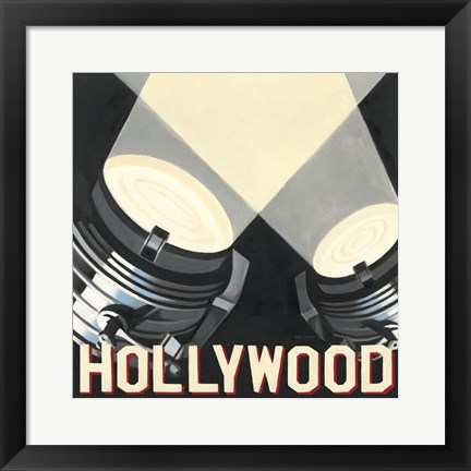 Framed Hollywood Print