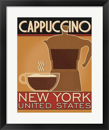 Framed Deco Coffee IV Print
