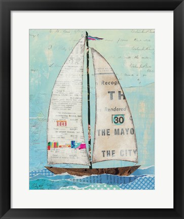 Framed At the Regatta III Print