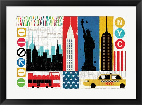 Framed New York City Experience Print