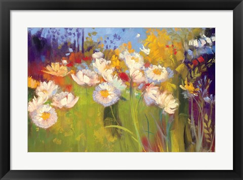 Framed Contemporary Meadow Print