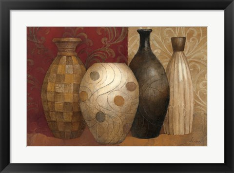 Framed Timeless Vessels Print