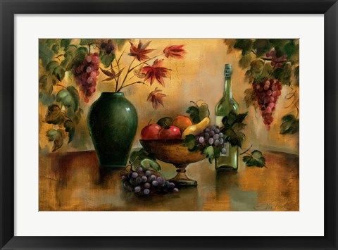 Framed Autumn Hues Print