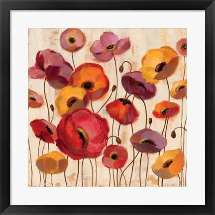 Framed Sunrise Anemones Print
