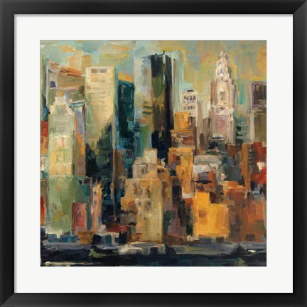 Framed New York, New York Print