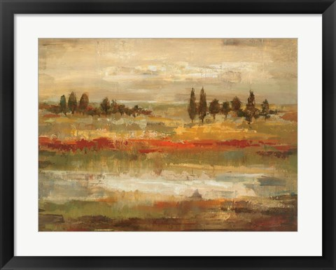 Framed Summer Fields Print