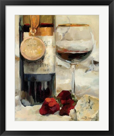 Framed Award Winning Wine II Print